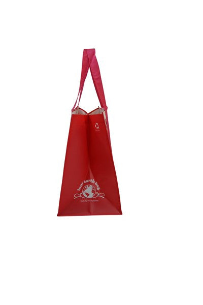 Buti Earth Shopping Bags | Coral Medallion
