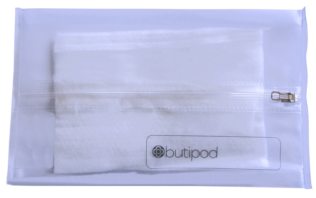 buti-pod zip wipes case combo | bitty and original sizes | combo pattern choices! | 2-pack