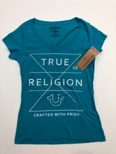 Load image into Gallery viewer, True Religion Womens T-Shirt Size Extra Small