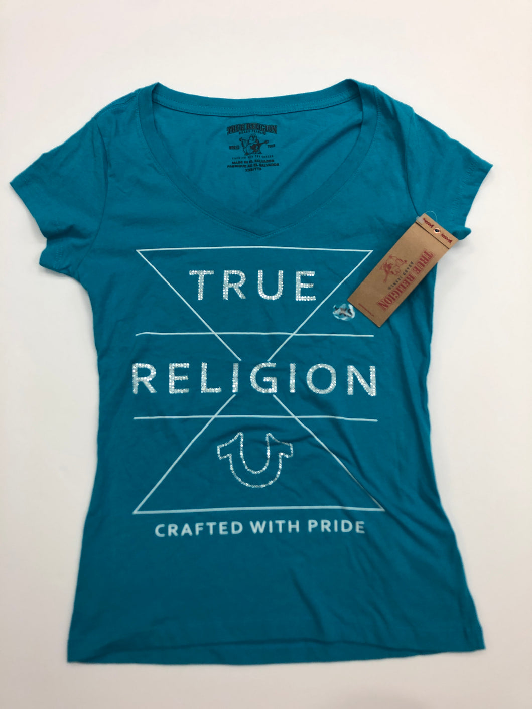 True Religion Womens T-Shirt Size Extra Small