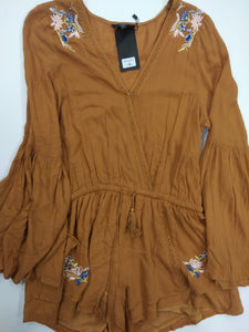 Very J Romper Size Large