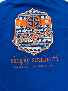 Simply Southern Womens Short Sleeve Top Size Large