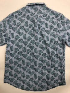 Mens Short Sleeve Top Size Large