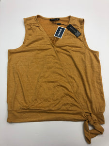 Cable And Gauge Womens Tank Top Size Extra Large