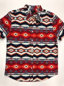 21 Men Mens Short Sleeve Top Size Large