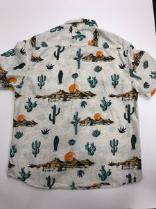 Denim & Flower Mens Short Sleeve Top Size Large