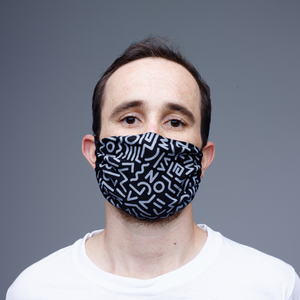 Antimicrobial and washable cloth face mask -