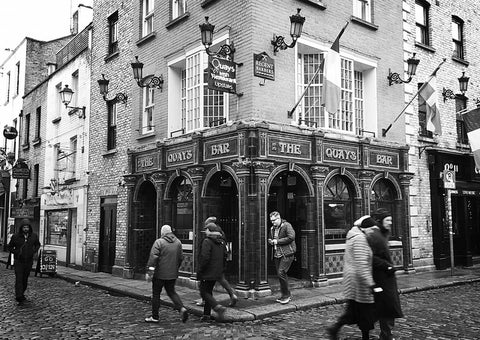 Quays Bar, Dublin.