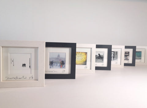 Small Framed pictures.