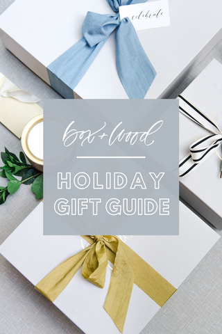 Box+Wood Gift Company Curated Gift Box Holiday Gift Guide