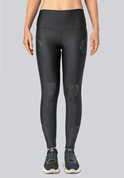 ROSES BLACK LEGGING
