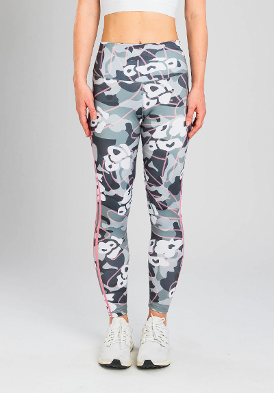 PINK STRIPES CAMO LEGGING