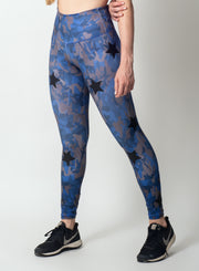 MIX STARS BLUE CAMO LEGGING