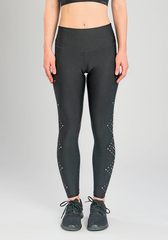 ARTISAN LASER CUT LEGGING - BLACK