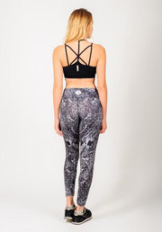 Black and White Print Pants on Sale
