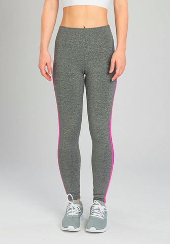 INFLUENCE NEON CHEVRON PINK LEGGING