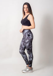 MIX STARS GRAY CAMO LEGGING
