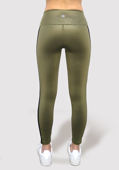 Green Shine Legging for women