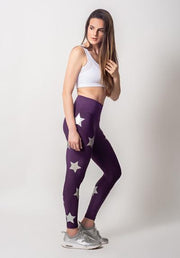 Patterned Stars Leggings