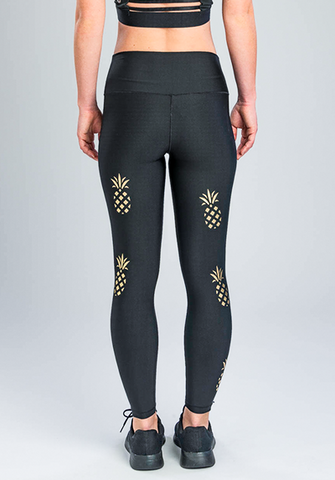 PINEAPPLE GOLD LEGGING