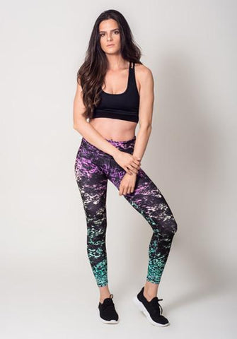 Colorful Printted Spandex Pants