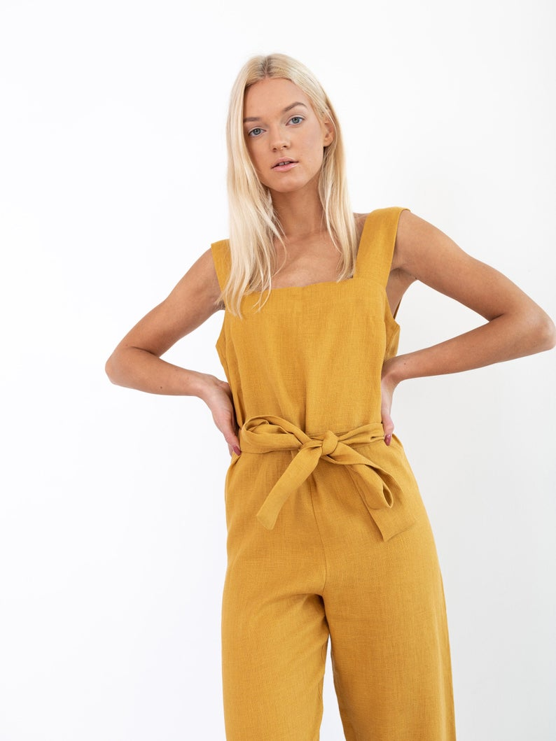 Dakota Linen Jumpsuit