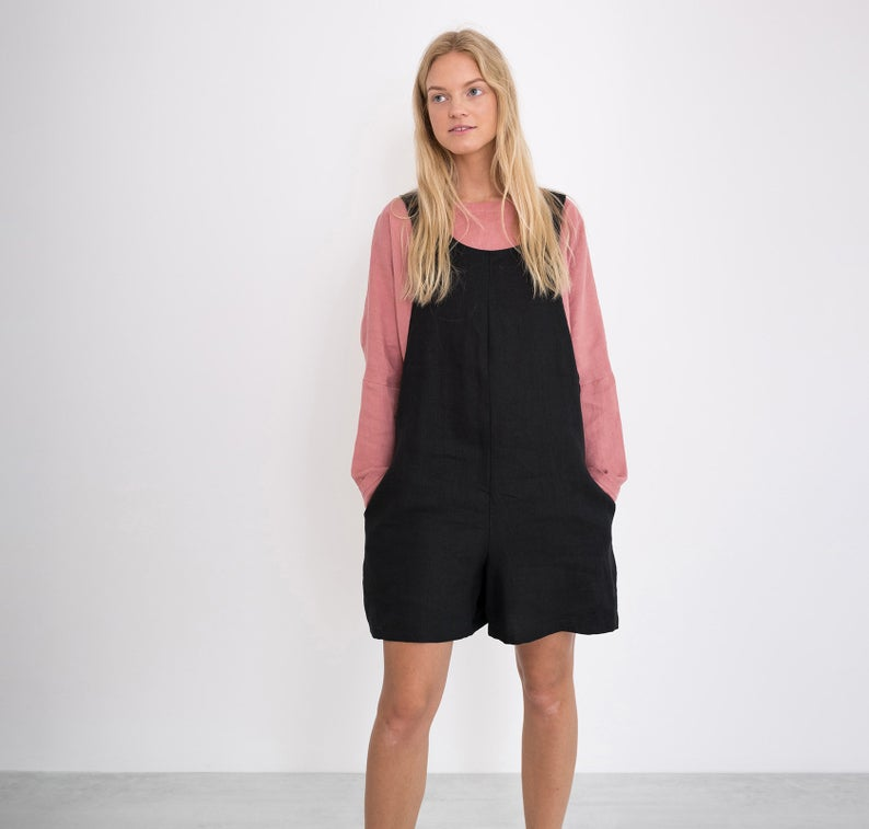 River Linen Overall