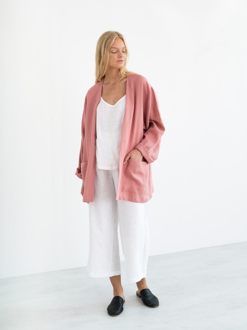 Selby Linen Jacket