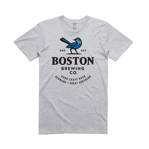 Boston Brewing Co. - Men's Grey T-Shirt