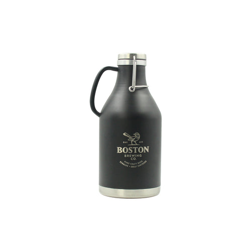 Boston Brewing Co - Black Stainless Steel Growler (Empty)