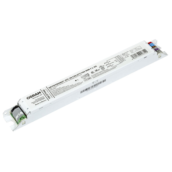 Osram 57433 Optotronic 30W 120/277V AC 50/60Hz Constant Current Dimmable LED Driver OTi 30/120-277/1A0 DIM-1 L G2