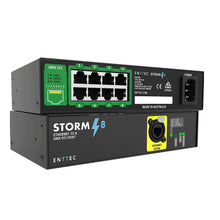 Load image into Gallery viewer, Enttec Storm 8 70055 8 Ports Multi-protocol Ethernet to DMX Converter