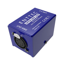 Load image into Gallery viewer, Enttec Open DMX USB 70303 Interface Controller