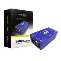 Free 2nd Day Air Enttec 70405 ODE Mk2 DMX Ethernet ArtNet