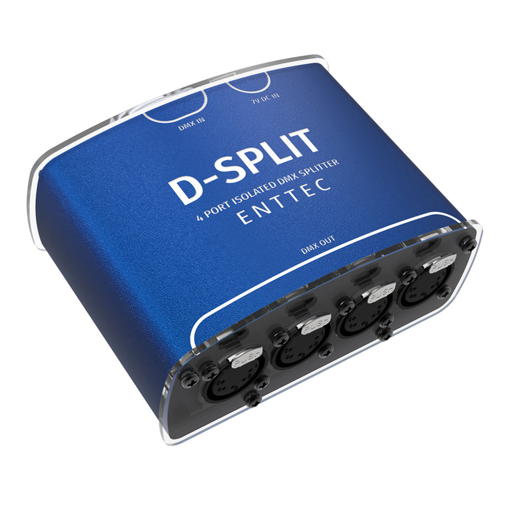 Enttec D-Split (5 Pin) 70575 DMX 4 way Splitter Isolator