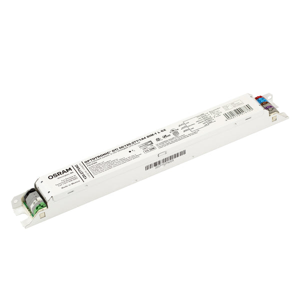 Osram 57452 Optotronic 50W 120/277V AC 50/60Hz Constant Current Dimmable LED Driver OTi 50/120-277/1A4 DIM-1 L G2