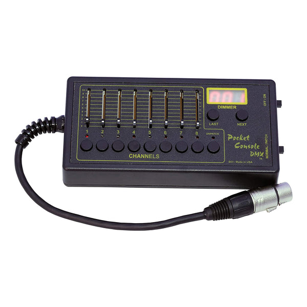 Playback 8 Pocket Console DMX Controller