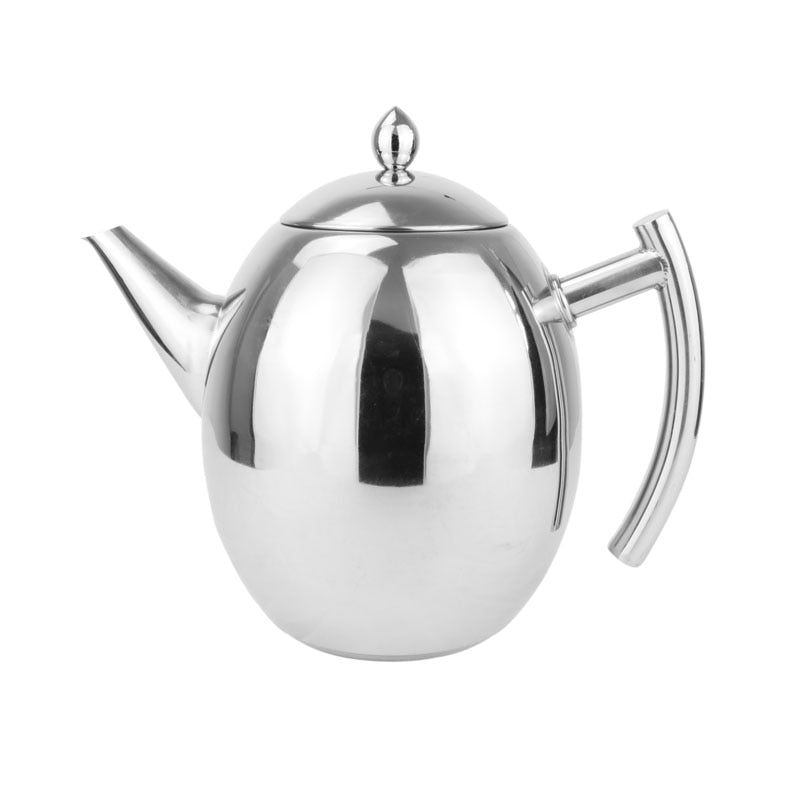 Thick stainless steel teapot coffee teapot with strainer hotel restaurant hotel induction cooker  1500ML