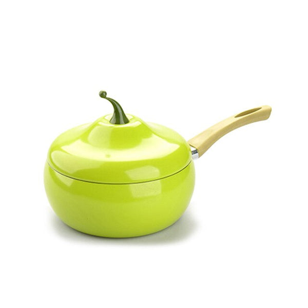 Fruit Cookware Saute pan Fry Pan Cooking Pot Sauce Pot Saucepan Pan Induction Cooker Pot Gas Stove Pan Aluminium skillet