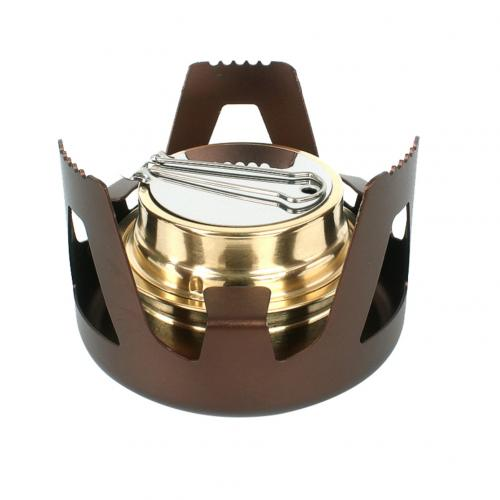 Outdoor Portable Alcohol Stove Burner Furnace Hiking Camping Picnic Cooking Tool BBQ Camping Stove Stand Cookware Kitchen Tools