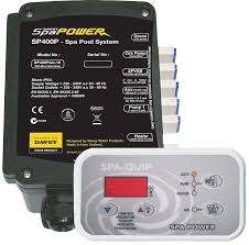 SPA POWER 400 15AMP CONTROLLER AND QB1501 PUMP KIT