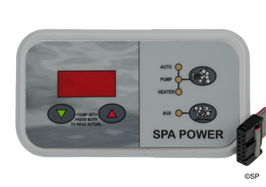 Davey Spaquip Spa Power 500 Touchpad with decal