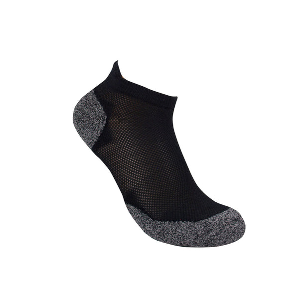 3G-Bamboo Ankle Sock - BLACK