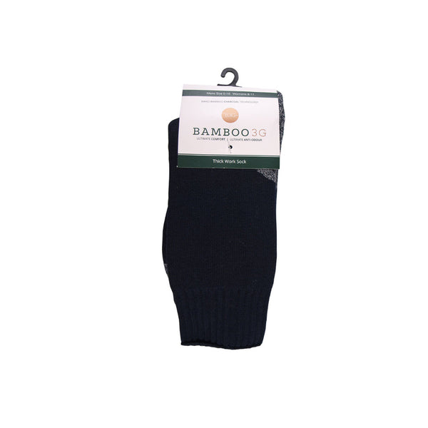 3G-Bamboo Thick Work Sock - NAVY