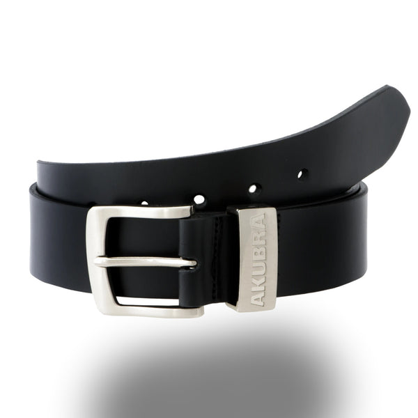 AKUBRA BELT DUBBO Black