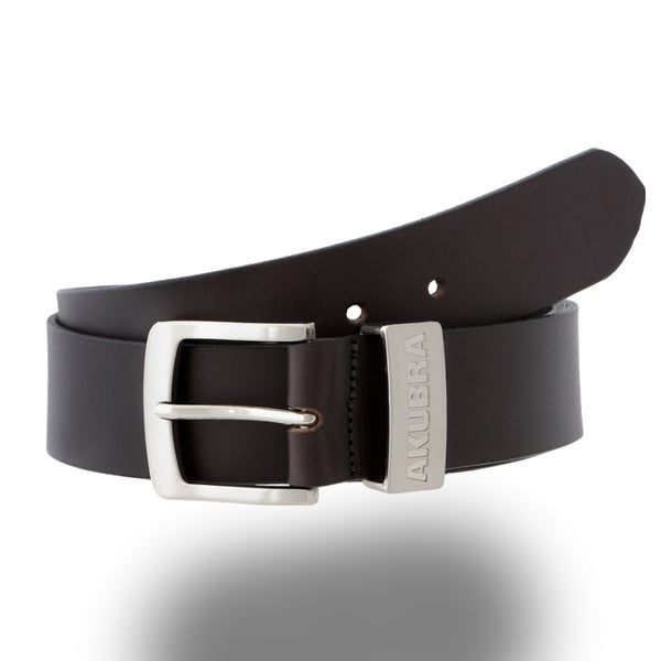 AKUBRA BELT DUBBO Brown