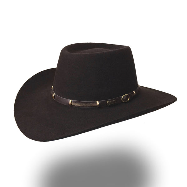 AKUBRA THE BOSS Tanbark Brown