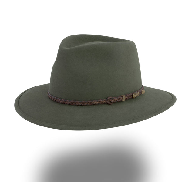 AKUBRA TRAVELLER Fern Green