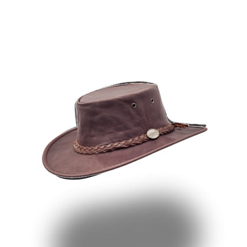 1019-Sundowner Kangaroo - Dark Brown