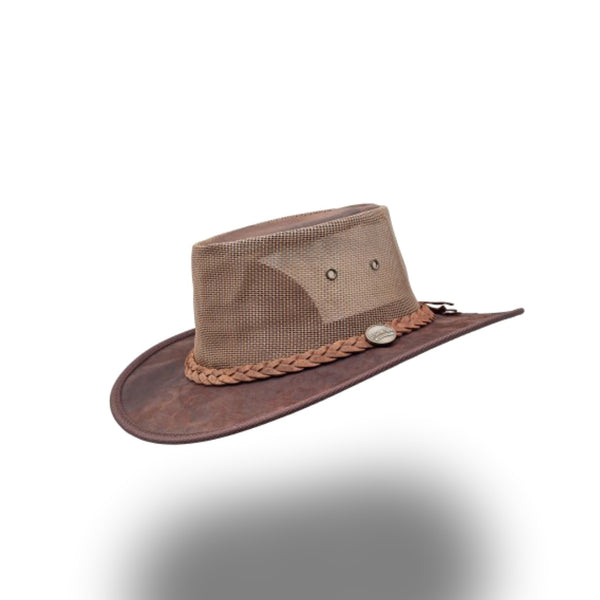 BARMAH HAT 1038-Squashy Kangaroo Cooler - Dark Brown